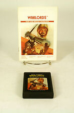 Atari 2600 game Warlords  With Instructions Tested and Working