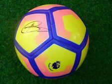 Ballon Première League 2016 / 2017 signé HARRY KANE foot ultras England NIKE