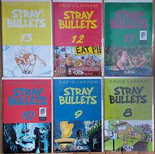 STRAY BULLETS #2,8,9,10,11,12,13 1st prints all NM/M~El Capitan~David Lapham