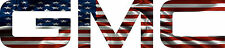 GMC American Flag Decal/Sticker FREE SHIPPING!!