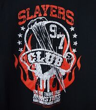 Slayers Club Buffy the Vampire Slayer Black XL T-Shirt NEW Nerd Block Excl