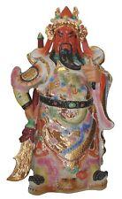 """27"""" Large Porcelain Chinese Guan Gong Guan Yu Kwan Kong Kuan Chang Protect God"""