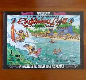 Youth circuit PORTUGAL SURF original poster 1994
