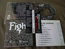FIGHT JUDAS PRIEST / war of words /JAPAN LTD CD OBI