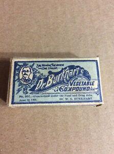 PRE 1910 ANTIQUE APOTHECARY MEDICINE ADVERTISING #13- Dr. Burkhardt