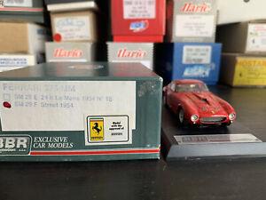 Rare 1/43 BBR SM29F Ferrari 375 MM