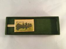 "Brass Clip ""Marquette Explorer"" 6 Cent U.S. Postage Stamp"