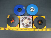 Lot Of 5 Vintage Mistery Reels Unknown Content Amateur Film SKURCS2