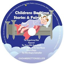 Childrens Bedtime Stories CD (3) - Classic Stories & Fairy Tales - Helps Sleep
