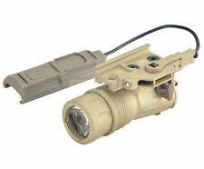 AIRSOFT FMA M720V RAID WEAPON LIGHT CREE PRESSURE PAD TAN DE UK