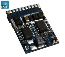 Esu 54614 Locomotive Driver V4.0 Decoder Mm/ DCC/SX 21 Pin Interface New