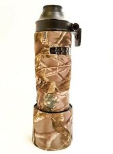 Camouflage Lens Cover for Nikon 80-400mm AF-S G VR (Neoprene Camo) + Zoom Cover
