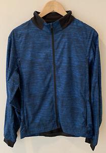Lululemon running jacket, MEDIUM, Blue, Men's, Full Zip