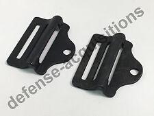 "Set of 2 Military 1"" Tension Lock Adjuster Buckle Ladderlock Sling Attachment"