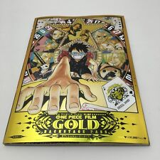 ONE PIECE FILM GOLD Official Movie Guide BOOK BACKSTAGE PASS JAPAN ANIME NEW
