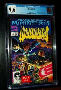 NIGHTSTALKERS #1 1992  Marvel Comics CGC 9.6 NM+