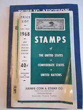 LOT OF 6 STAMP BOOKLETS - PRICE GUIDES, COLLECTING & AUCTION BOOKLETS - BN-10