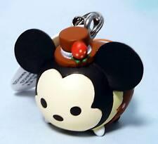 Konami Disney Tsum Tsum arcade strap keychain Chocolate cake Mickey Mouse New