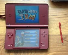 Nintendo DSi XL Games Console - Burgundy with Project Design case & games