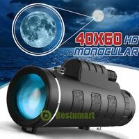 40X60 High Power Military Binoculars W/Night Version BAK4 Optics Hunting Camping