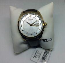 Seiko SNKN70 Recraft Automatic Mens Watch Leather Band 100M WR Original No Box