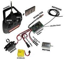RC Fernsteuerung - Set für austausch oder eigenbau Modelle wie Autos, Boote,....