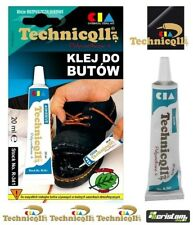 TECHNICQLL STRONG ADHESIVE GLUE FOR SHOES BOOTS LEATHER RUBBER Butapren 20ml