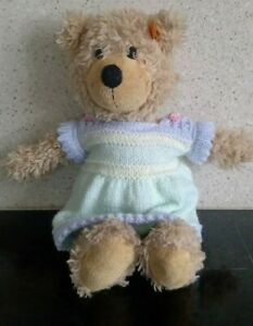 Hand Knitted Dress For Doll or Teddy Bear