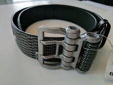 oakley mens leather belt