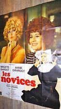 brigitte bardot LES NOVICES !  affiche cinema 1970