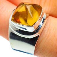 Citrine 925 Sterling Silver Ring Size 9 Ana Co Jewelry R48706F