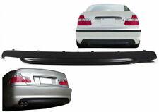 Heckdiffusor für BMW 3er E46 für M Paket Coupe Cabrio Limousine Touring 98-07