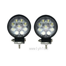 2x 27W Car 12V LED Work Spot Lights Spotlight Lamp 4x4 Van ATV Offroad SUV Truck