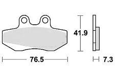 Jeu 2 plaquette de frein Avant de qualité MBK NXC 125 FLAME X 2004 - 2012