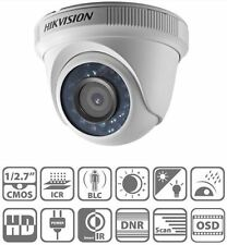 CCTV Hikvision DS-2CE56D0T-IR 2MP 2.8mm HDTVI 1080p 20m IR Dome Indoor IP66