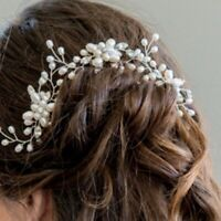 Fashion Bridal Hair Accessories Pearl Flower Hair Stick Pin Wedding Jewelry New