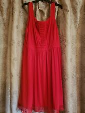 Red Dress Size XL new without tag.