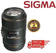 Sigma Macro 105mm f/2.8 EX DG OS HSM Macro Lens For Canon 258101 (UK Stock)