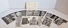Full set of 15 picture postcards Sarnath 1958 Dept Archaeology India unused lot