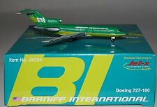 JET-X JX034 Boeing 727-027C Braniff International N7276 in 1:400 scale