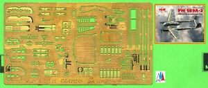 "1/72. Focke Wulf FW-189A detail P.E. set, by ""Microdesign"" 072205"
