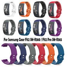 1PC Correa de reloj de TPU para reloj Samsung Gear Fit2 SM-R360 Fit2 Pro SM-R365