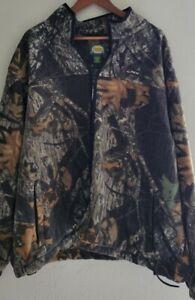 Vtg 90s Cabelas Fleece Polar Tec Wind Pro Jacket And Pants Set Sz 2xl Camo Woods