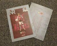 Aston Villa v Sheffield United 21/9/20 PL MATCH PROGRAMME! IMMEDIATE DISPATCH!!
