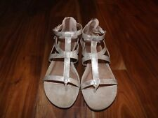 NEW Womens KENNETH COLE REACTION Rose Gold Sandals Shoes Sz 6