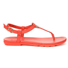 Sperry Women's Saltwater Sandal Buckle Red STS83146 NEW