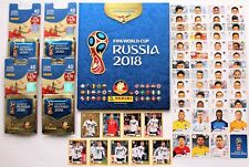 Panini World Cup 2018 hardcover album + 4 blisters + stickers McDonalds+ updates