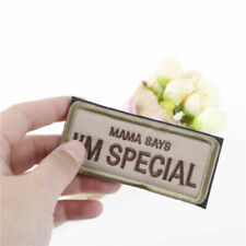 Mama Says I'm Special Military Patch 3d Badge Fabric Armband Badges Stickers