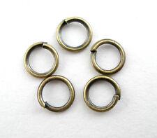 1200Pcs Bronze Tone Open Jump Ring 5x0.7mm Wholesale SP0038