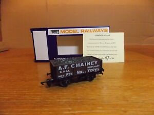 DAPOL 5-PLANK OPEN WAGON No 2 in A. F. CHAINEY PEN MILL YEOVIL Livery. Ltd Edn.
